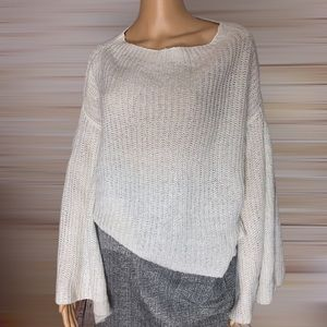 Design Lab Lord & Taylor Bell Sleeve Sweater